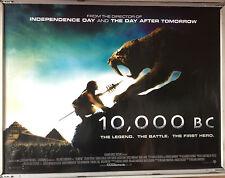 Cinema Poster: 10,000 BC 2008 (Quad) Roland Emmerich Cliff Curtis