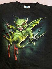Vntge Universal Studios Halloween Horror Night VII 1997 T Shirt Rare Super Cool!