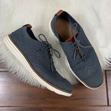 Cole Haan Men's Size 8 M Gray ØriginalGrand Stitchlite Wingtip Oxford Shoe