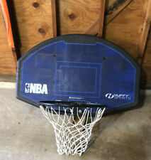 Basketball Hoop and Backboard (Nba Huffy Sports) - Ready For Roof or Pole Mount