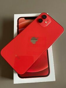"""Apple iPhone 12 -128gb 6.1"""" Red (Product) Unlocked With Warranty Ship Worldwide"""