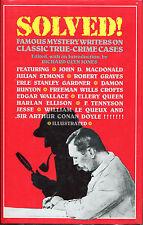 Solved!-Mystery Writers on True-Crime Cases-Harlan Ellison, John D. MacDonald