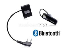 Bluetooth Wireless Adaptor +PTT Headset Wouxun KG-689 TG-UV KG-UVD1P UV8D UV9D