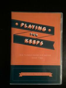 Playing For Keeps - Orange DVD Series - Six Things Every Kid Needs To Know -MINT