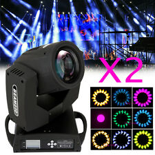 2pcs 230W TESTA MOBILE Moving Head Light fascio Beam Teste Mobili Luce Dj Disco