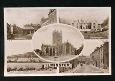 Somerset ILMINSTER Tuck M/view RP PPC Used 1952