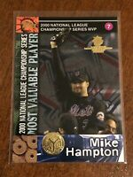 2000 World Series Topps Baseball Base Card #98 - Mike Hampton - New York Mets