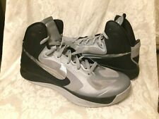 NIKE Hyperfuse 2012 Wolf Grey/ Silver Basketball Sports Shoes Men's Size US 12