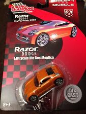 02 CONCEPT DODGE RAZOR METAL DIECAST 1:64 CONCEPT & MUSCL RACING CHAMPIONS RARE