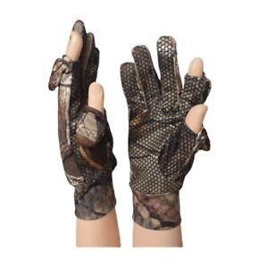 Full Finger Gloves Bionic Camouflage Hunting Gloves for Spring&Winter