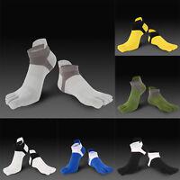 1 Pair New Men's Socks Cotton Meias Sports Five Finger Socks Toe Socks