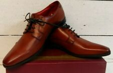 Men's Base London Charles Tan Leather Lace Up Shoes