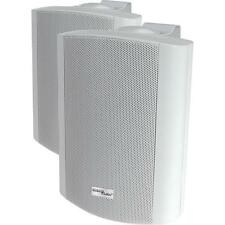 "(Pair = 2) STELLAR LABS 50-14930 Indoor/Outdoor Speaker-WHITE- 5 1/4"" 60W - 8ohm"