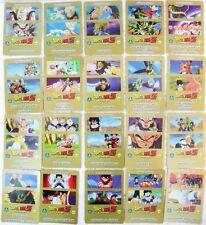 """Dragon Ball Z """"20 carte diverse n°consecutivi a caso tra 1/9 e 30/60"""" serie GOLD"""