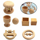 Montessori Baby Wooden Object Fitting Toy Set Gift Early Educational Toys