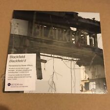 "Blackfield ""Blackfield II"" 2017 CD Sealed [Steven Wilson Porcupine Tree 2 ll]"