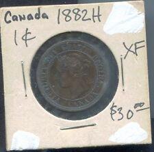 CANADA - BEAUTIFUL QV CENT, 1882 H