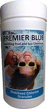 1kg of Premier Blue Stabilised CHLORINE GRANULES for Swimming Pools & Hot Tubs