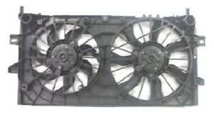 Dual Radiator and Condenser Cooling Fan For 2006-2013 Chevrolet Impala (Police)