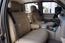 CHEVY SILVERADO 2003-2006 IGGEE S.LEATHER CUSTOM SEAT COVER 13 COLORS AVAILABLE