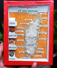 WOW Beautiful Colourful All Kinds of Madagascar Mineral Specimen for gift