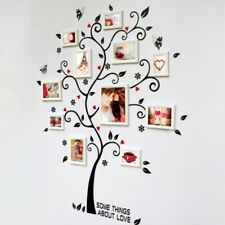 Tree Wall Frame Family Photo Picture Collage Decor Home Art Set Gift Big Sticker