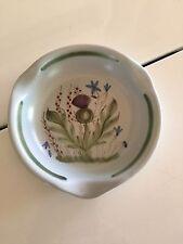 Vintage Buchan portobello Scotland thistleware pottery Ash Tray Ashtray 56/6