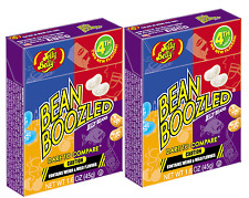 2 BOX'S BEAN BOOZLED JELLY BEANS  1.6oz  JELLY BELLY. HIGH DEMAND!!