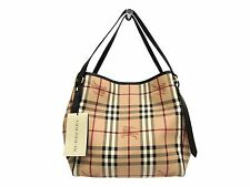 Auth Burberry HAYMARKET COLOURS SMALL CANTERBURY TOTE Bag 3741175 (BF303569)