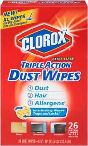 "Triple Action Dust Cleaner Bleach-Free 8.5""x10"" Extra Large - 26 Count"