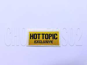 STICKER REPLACEMENT HOT TOPIC EXCLUSIVE FUNKO POP