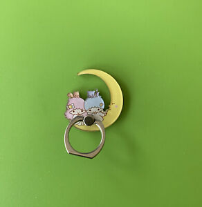 Phone Ring Holder/ Phone Stand for Mobile iPhone -Little Twin Star Moon Sanrio
