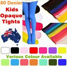 GIRLS OPAQUE KIDS TIGHTS PANTYHOSE HOSIERY STOCKINGS PARTY BALLET DANCE SOCKS