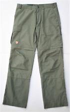 Fjällraven Herren-Trekkinghose Zip-Off Trousers Modell Karl Gr. 50 grün G-1000