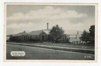 Vintage Old Postcard Vidalia Georgia GA Public School Building