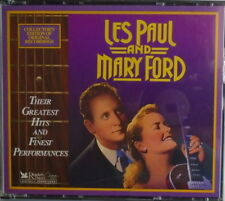 LES PAUL AND MARY FORD - CD - Greatest Hits And Finest Performances - LIKE  NEW