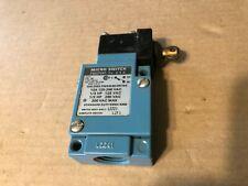 Honeywell, Limit Switch, Micro Switch, LZZ21
