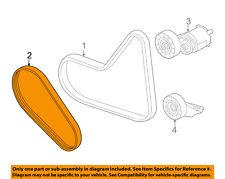 VW VOLKSWAGEN OEM 11-13 Jetta-Serpentine Drive Fan Belt 07K145933G