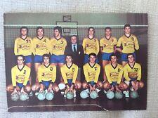 PALLAVOLO VOLLEY BALL CARTOLINA UFFICIALE SQUADRA PANINI MODENA 1972 ED. PANINI