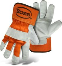 Boss Premium Work Gloves Double Leather Palm XX Large