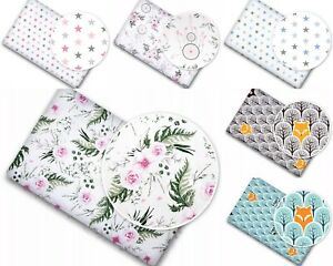 BABY NURSERY BED FITTED COT SHEET 100% COTTON PRINTED DESIGN FOR CRIB 90x40cm