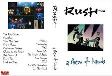 """RUSH A Show of Hands DVD - LaserDisc Rip Incl Missing """"Lock and Key"""" song 1989"""
