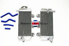 For Yamaha YZ250F YZF250 YZ 250 F 2007 - 2009 2008 Aluminum Radiator + Hose-Blue