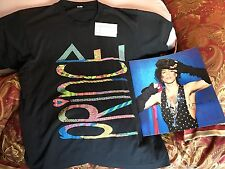 Prince Lovesexy Concert Shirt 1988 AND Ticket Stub AND Concert Program