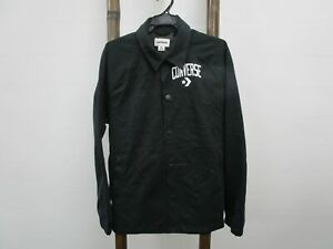 Converse Button up Jacket Navy Mens Size M RRP$80