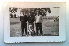 OLD PICTURES RECOVERED FROM ESTATE MIDDLE AGED MEN AT PARK WITH YOUNG BLONDE BOY