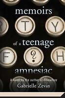 Memoirs of a Teenage Amnesiac, Zevin, Gabrielle, Good Book