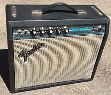 Fender Vibro Champ Amp 1976 Good Working Condition with aftermarket footswitch