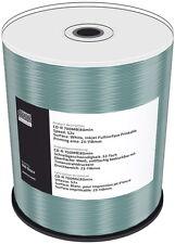 100 Mediarange Rohlinge CD-R full printable 80Min 700MB 52x Spindel