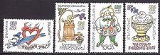 BULGARIA 1998 ** MNH SC # 4059 - 4062 Greetings stamps